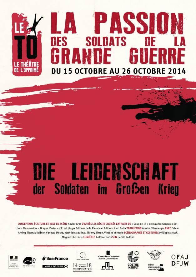 Le spectacle mis en scène par Xavier Gras, joué par des jeunes acteurs français et allemands, joué et surtitré en français et en allemand.
